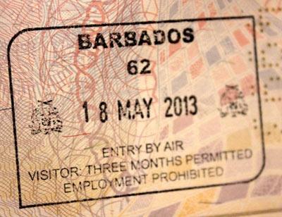 виза барбадоса