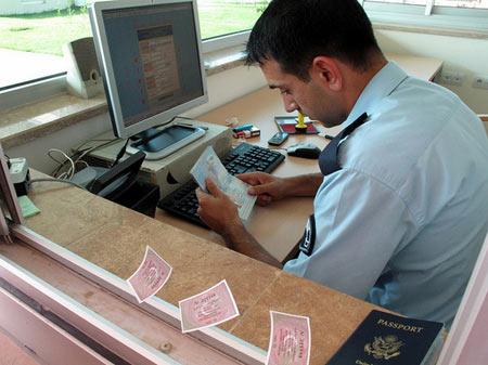 получение визы в посольстве