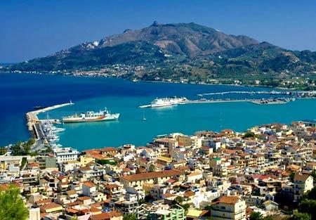 Закинфос, Греция