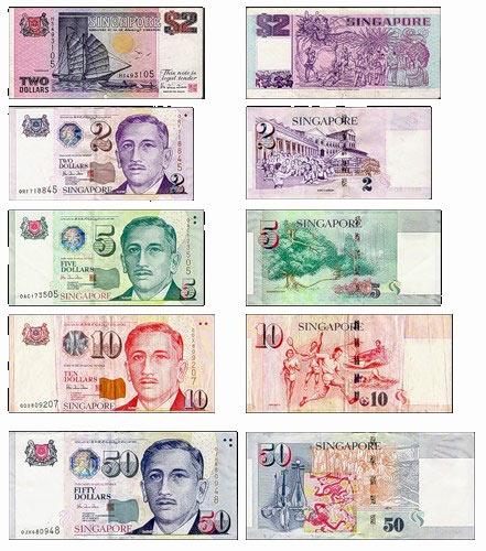 деньги в Сингапуре