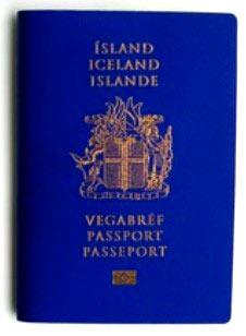 исландский паспорт