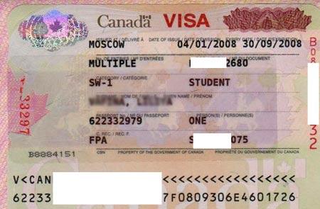 Канадская студенческая виза