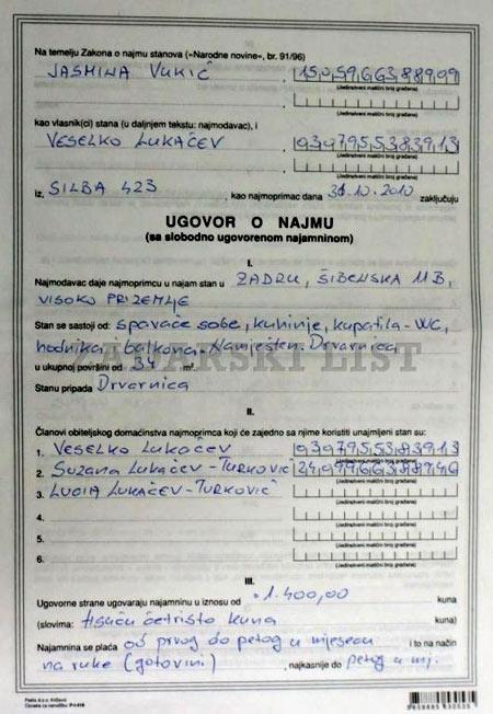 договор аренды в Хорватии