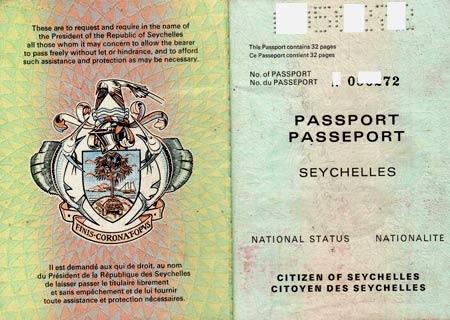 сейшельский паспорт