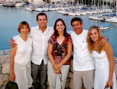 хорватская семья