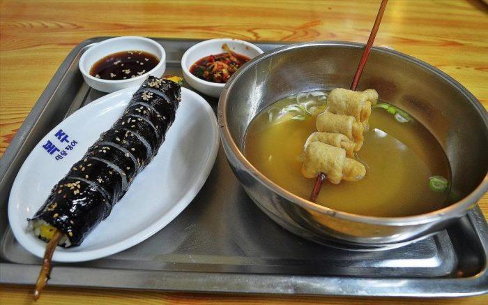 Еда в Корее