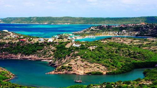 острова  Антигуа и Барбуда