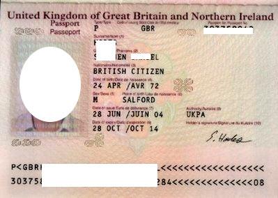 паспорт в Великобритании