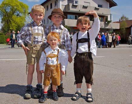 дети в Германии