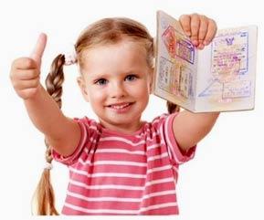 детская виза на Тайвань