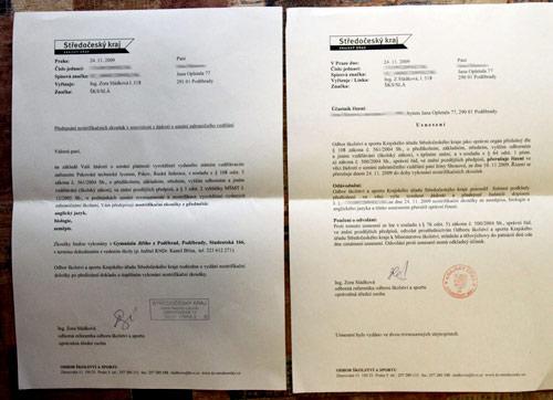 переведенный диплом в Чехии