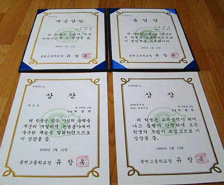 южнокорейский диплом