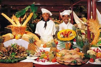 ресторан в доминикане