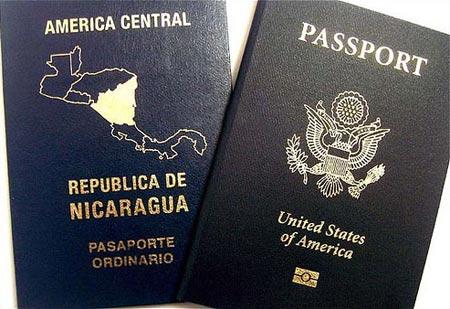 двойное гражданство Никарагуа и США