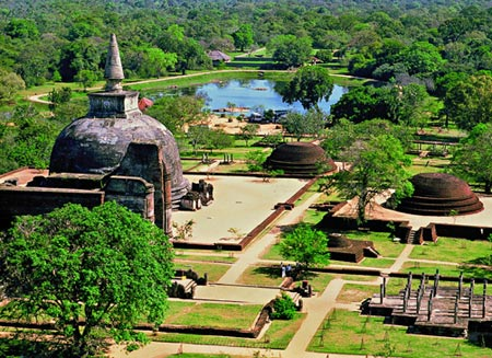 храм на острове Шри-Ланка