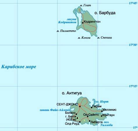 Картинки по запросу антигуа и барбуда на карте