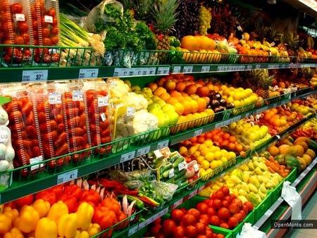 продуктовый магазин в Черногории