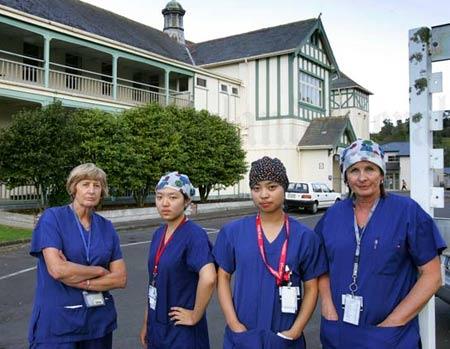 медсестры в Новой Зеландии
