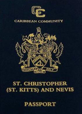 паспорт Сент-Кристофер и Невис