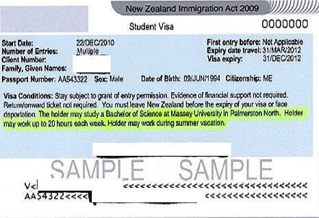 виза для работы и обучения