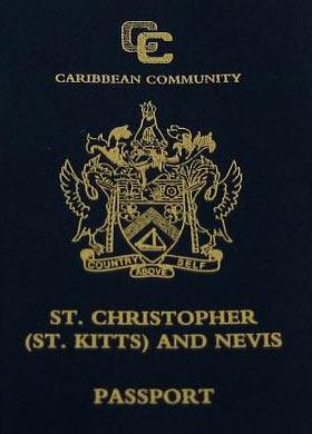 Паспорт Сент-Китс и Невис