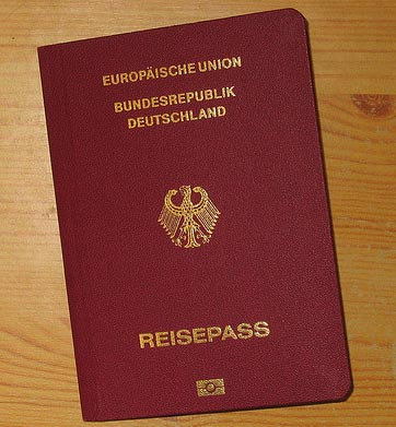 германский паспорт