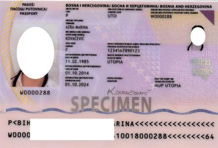 Боснийский паспорт