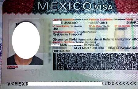 рабочая виза в Мексику