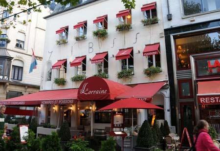 ресторан в Люксембурге