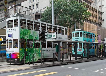 транспорт в Гонконге