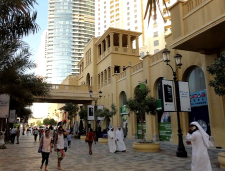 улица в Дубаи