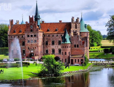 замок в Дании