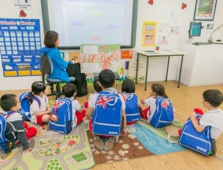 Обучение в дошкольном учреждении в Англии