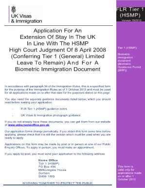 Заявление на продление рабочей визы