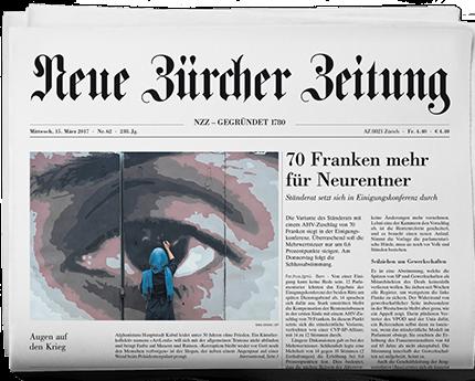 Газета Цюрих