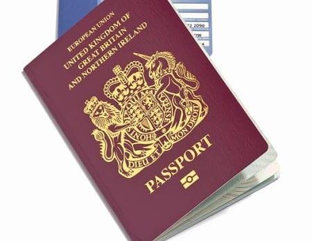 Паспорт гражданина Великобритании