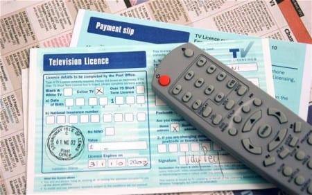 Так выглядит лицензия на домашнее телевидение в Великобритании