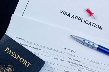 Заявление на получение визы в Англию