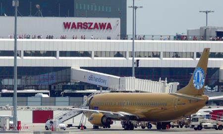 аэропорт в Польше