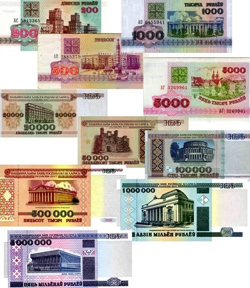 деньги в Белоруссии
