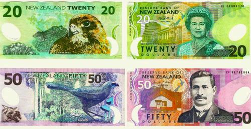 деньги Новой Зеландии