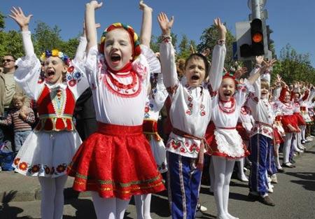 белорусские дети
