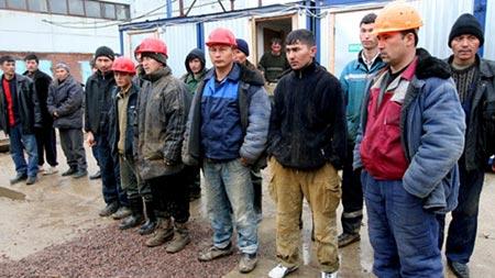 неквалифицированные работники в Европе