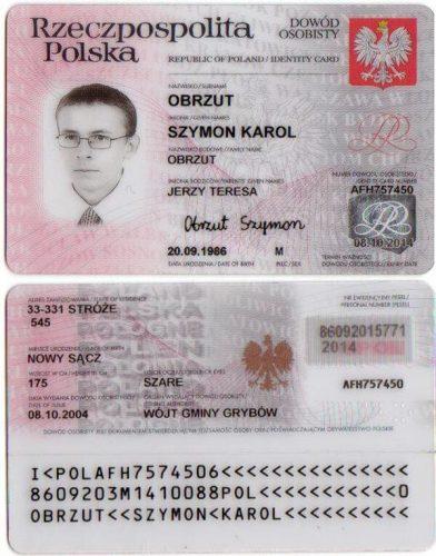 Заграничный паспорт поляка