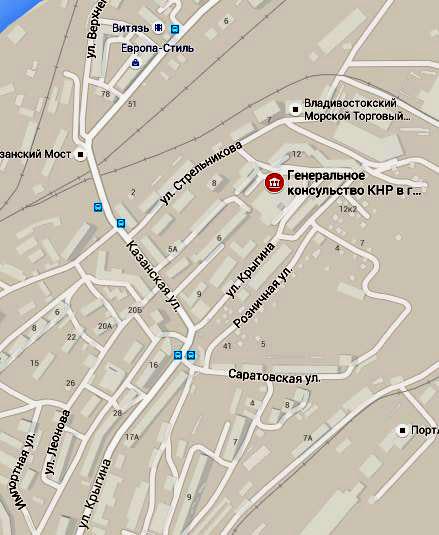консульство Китая во Владивостоке