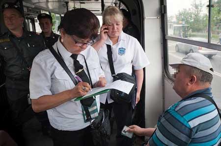 контролер в белорусском автобусе