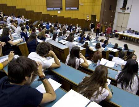 лекция в итальянском университете