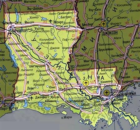 Штат Луизиана