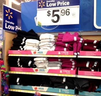 стоимость одежды в Америке