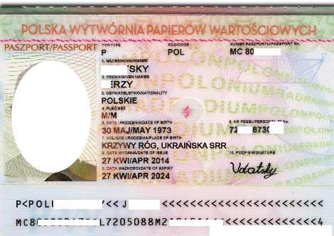 польский паспорт
